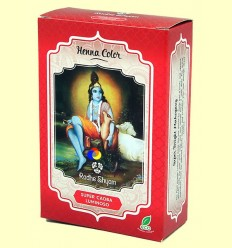 Henna Super Caoba Lluminosa Pols - Radhe Shyam - 100 grams