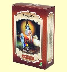 Henna Castaño clar Pols - Radhe Shyam - 100 grams