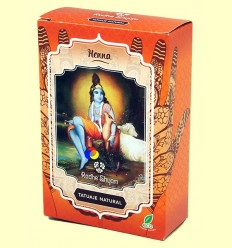 Henna Tatuatge Natural Pols - Radhe Shyam - 50 grams
