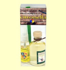OFERTA-25% - Pack Spray + Mikado de Citronela - Aromalia - 40 + 50 ml
