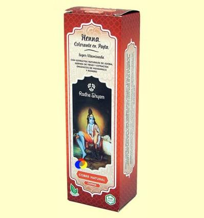 Henna Coure Natural Pasta - Radhe Shyam - 200 ml