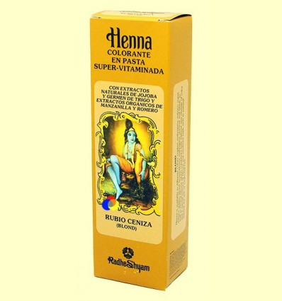 Henna Rubio Cendra Pasta - Radhe Shyam - 200 ml