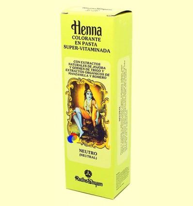 Henna Neutre Pasta - Radhe Shyam - 200 ml