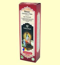Henna Caoba Fosc Pasta - Radhe Shyam - 200 ml