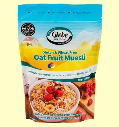 Muesli de Civada Sense Gluten amb Fruita - Glebe Farm - 400 grams