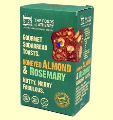 Torrades Multisemillas Romero, Mel i Ametlla Sense Gluten - The Foods of Athenry - 110 grams