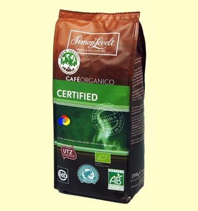 Cafè Mòlt Orgànic Certified - Simon Levelt - 250 grams