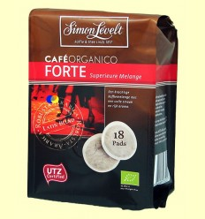 Cafè en càpsules Orgànic Forte - Simon Levelt - 18 càpsules