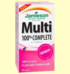 Multi 100% Complete Women - Suplement vitamínic - Jamieson - 90 càpsules