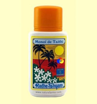 OFERTA-30% - Oli Protector Solar monoi de Tahiti Factor 6 - Radhe Shyam - 150 ml