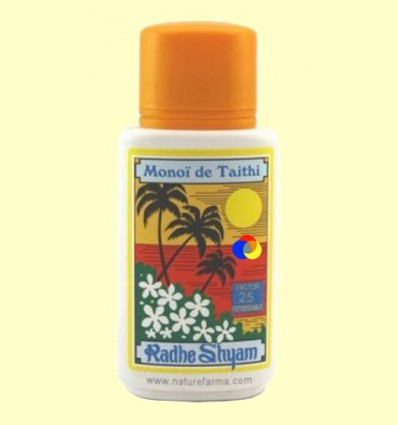 Oli Protector Solar monoi de Tahiti Factor 25 - Radhe Shyam - 150 ml