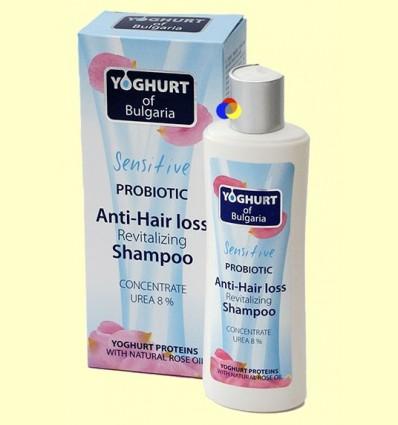 Xampú Revitalitzant Anti-Caiguda Cabell amb probiòtic - Iogurt de Bulgària - 230 ml
