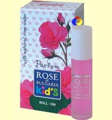 Colònia amb Aplicador Roll-On Infantil - Rose of Bulgària - 10 ml