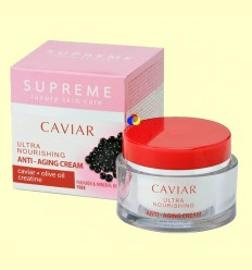 Crema Ultra nutritiva Anti Edat Caviar - Supreme - 50 ml