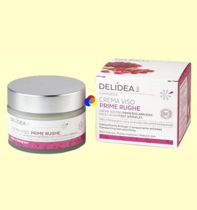 Crema facial antiarrugues - Delidea - 50 ml