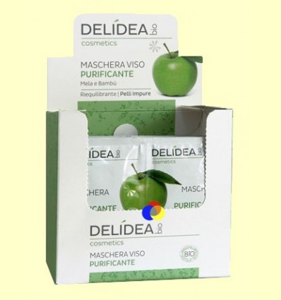 Mascareta Facial Purificant - Delidea - 2 x 10 ml