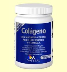 Col·lagen amb magnesi citrat, àcid hialurònic i Vitamina C - Natysal - 327 grams