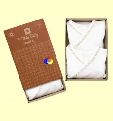 Bodis Kimono Cotó Orgànic Nones Marró - The Dida Baby - Pack 2 unitats