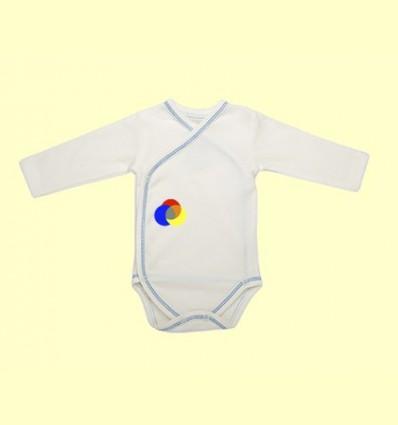 Body Kimono Cotó Orgànic Nones Blau - 1 unitat - The Dida Baby