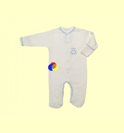 Pijama de Cotó Orgànic Nones Blau Talla 1 - The Dida Baby - 1 unitat