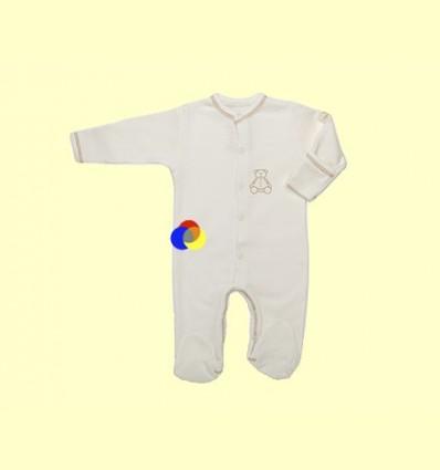 Pijama de Cotó Orgànic Nones Marró Talla 1 - The Dida Baby - 1 unitat
