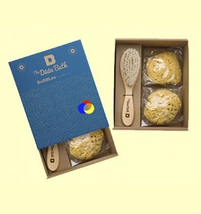 Pack de bany Natural 2 Esponges Bubbles - The Dida Bath - 1 pack