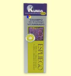 Xampú d'Espígol Vitaminado - Kunda - 250 ml