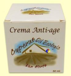 Crema Anti-Edat amb Oli de Xufa - Van Horts - 50 ml *