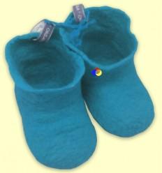 Botines Llana Merino Blau - The Dida Baby - 3 a 6 mesos