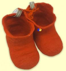 Botines Llana Merino Taronja - The Dida Baby - 3 a 6 mesos