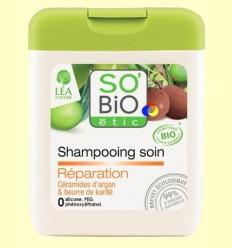 Xampú Reparador amb Argan i Karité - So'Bio Ètic - 250 ml