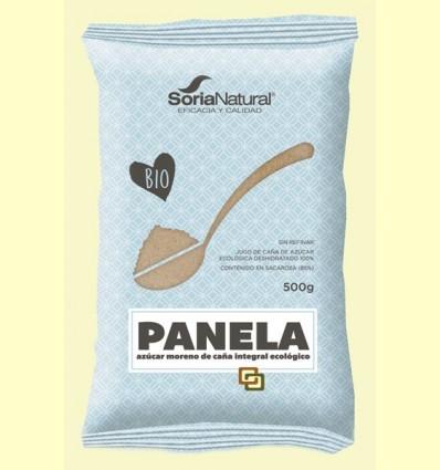 Panela Bio - Sucre de Canya sense Refinar - Soria Natural - 500 grams
