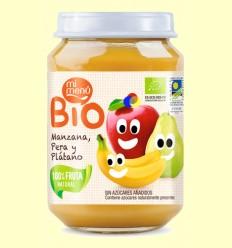 Potet de Fruita Poma Pera i Plàtan Bio - El meu Menú - 200 grams