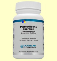 Pterostilbeno Supreme - Resveratrol - Laboratoris Douglas - 30 càpsules