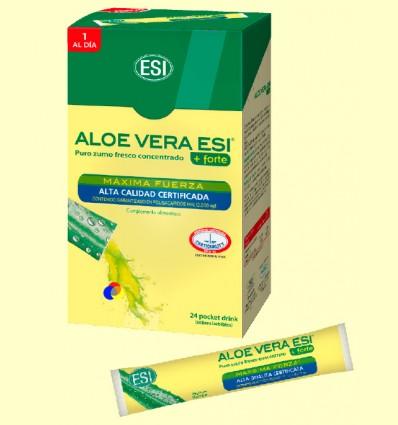 Suc Aloe Vera Forte - Laboratoris ESI - 24 Pocket Drink