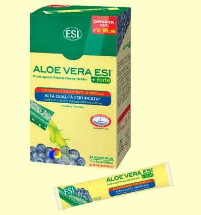 Suc Aloe Vera Forte Mirtil Pocket Drink - Laboratoris ESI - 24 Pocket Drink