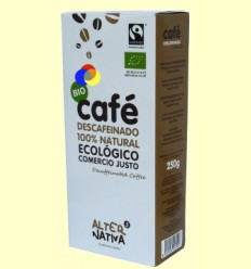 Cafè Descafeïnat Mòlt Bio - Alter Nativa 3 - 250 grams