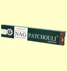 Encens Golden Nag Pàtxuli - Vijayshree - 15 grams