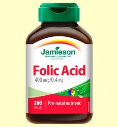 Àcid Fòlic 400 mcg - Jamieson - 200 comprimits
