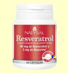 Resveratrol - Natysal - 60 càpsules
