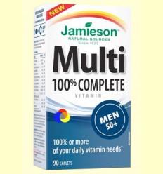 Multi 100% Complete Men +50 - Suplement vitamínic - Jamieson - 90 càpsules