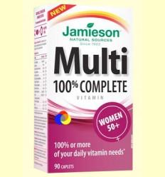 Multi 100% Complete Women +50 - Suplement vitamínic - Jamieson - 90 càpsules
