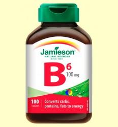 Vitamina B6 (piridoxina) 100 mg - Jamieson - 100 comprimits