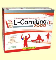 L-Carnitina 2000 - Pinisan - 15 vials