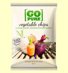 Xips de Vegetals Salades Bio - GoPure - 90 grams