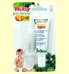 Pasta de Dents per a nadons + massatge - Nuby - 20 grams