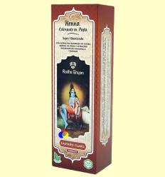 Henna Castaño clar Pasta - Radhe Shyam - 200 ml