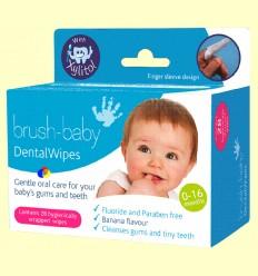 Tovalloletes Xylitol Infantil - Brush-baby - 28 tovalloletes