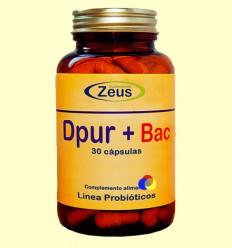 Dpur + Bac - Zeus Suplements - 30 càpsules
