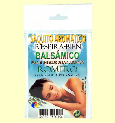 Saquet aromàtic Respirar Bé - Romero - Aromalia